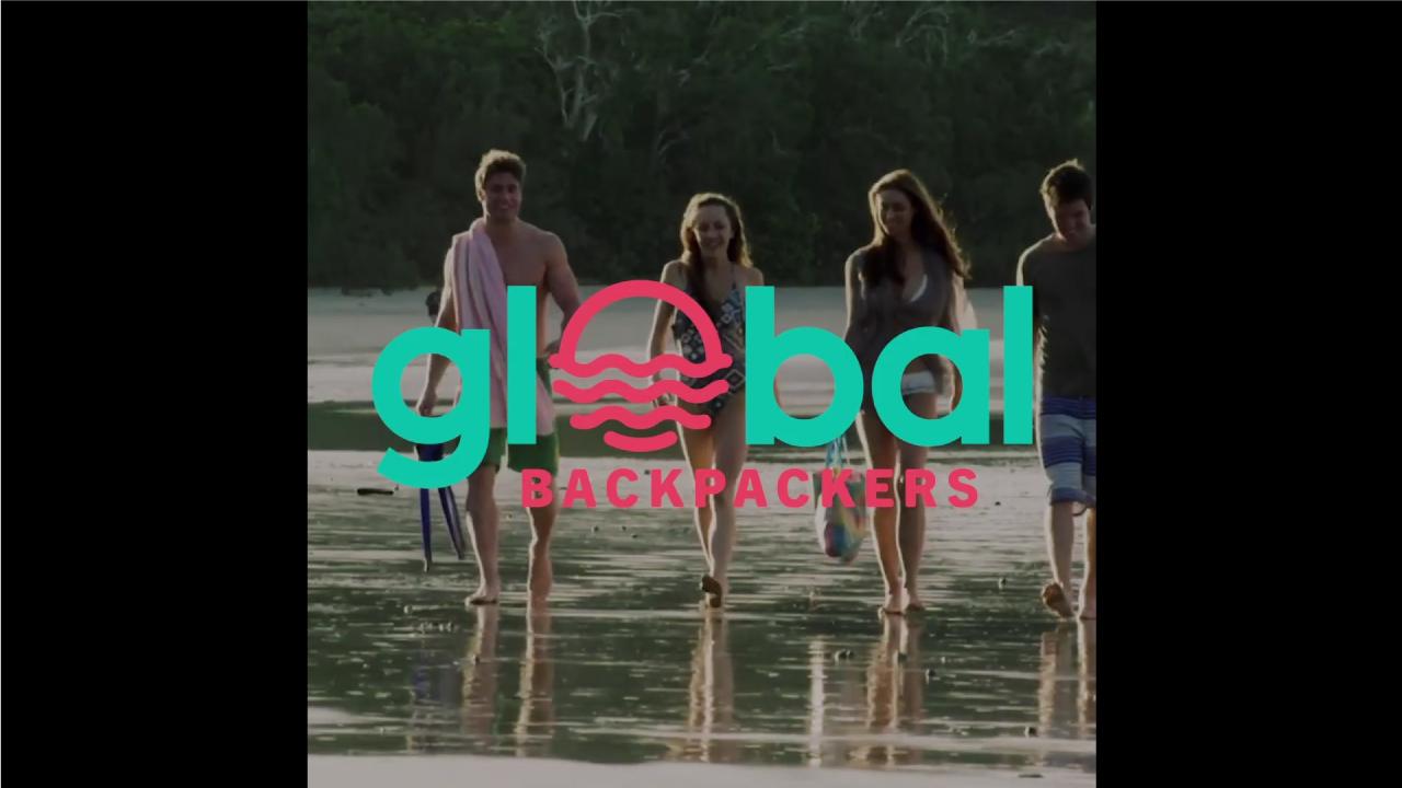 Global Backpackers Cairns logo